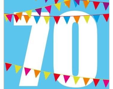 Zum 70. Geburtstag wird kräftig gefeiert