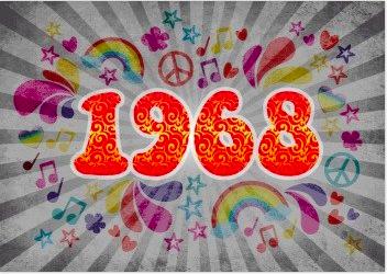 Werden Sie 50 Jahre und feiern Sie eine 60er Jahre Geburtstagsparty