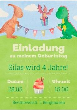 Dino Party für kleine Kinder
