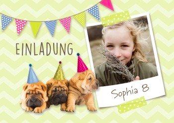Einladung für Frühlingskinder