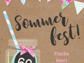 Wenn die Sonne lacht – Einladung zum Sommergeburtstagsfest