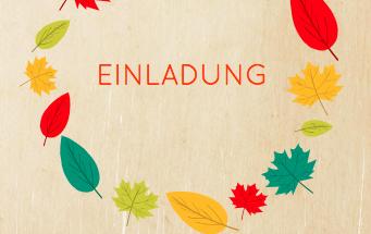 Einladung zur Herbstfeier