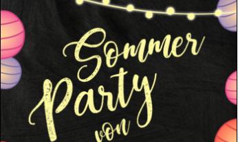Einladung zu Sommerfest und Sommerparty