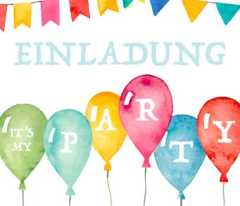 Partyeinladung