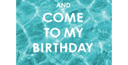 Einladung Geburtstagsfeier