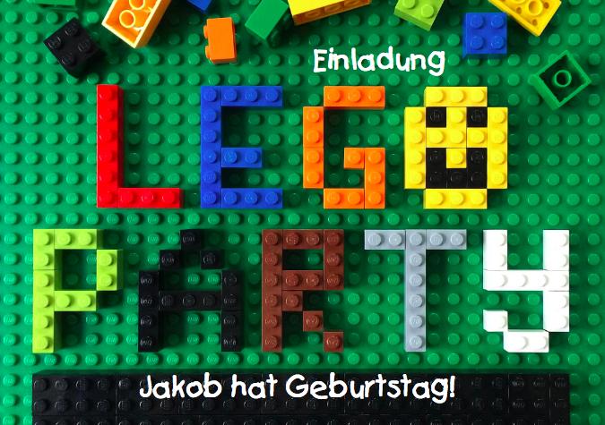 Lego Party mit Bauen macht Spaß