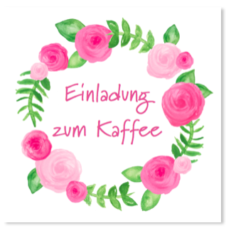 Zum Kaffee Und Kuchen Laden Sie Bekannte Und Freunde Ein Mit