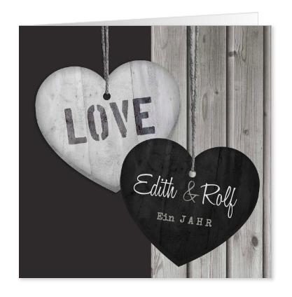 Einladungskarte für Hochzeitsjubiläum