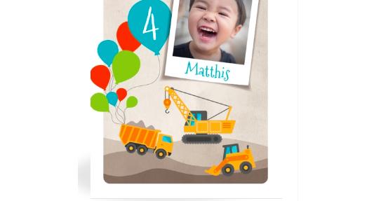 Einladung zum 4. Geburtstag