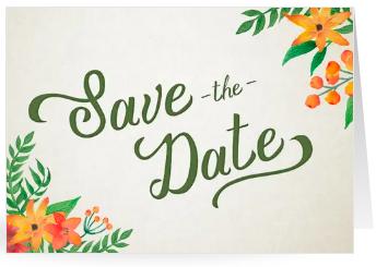 Einladung Save the date