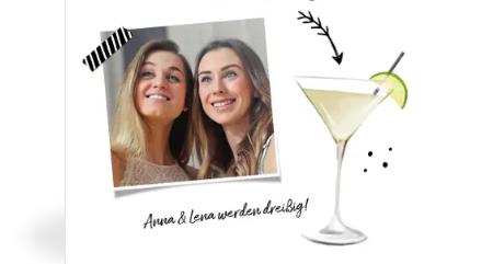 Einladung zur Cocktailparty