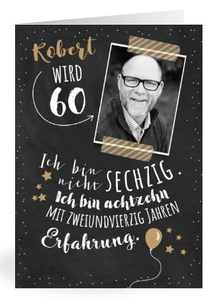 Einladung 60. Geburtstag