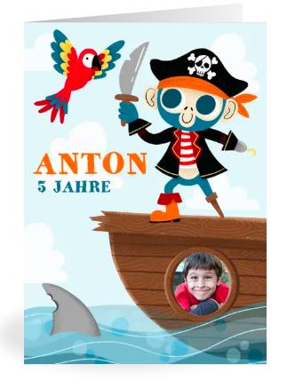 Einladung zur Schatzsuche, Piraten