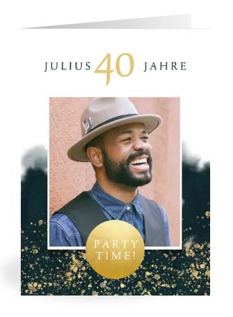 Einladung zum 40.Geburtstag