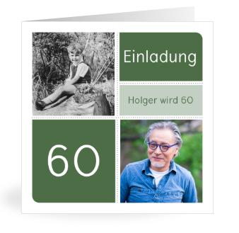 Einladung zum 60.Geburtstag
