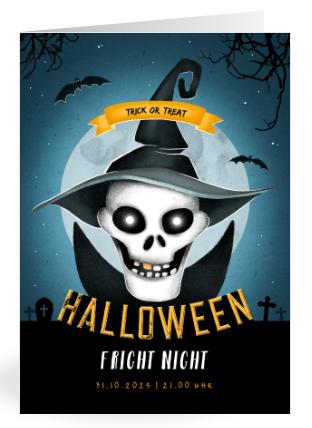 Einladung zur Halloween Party