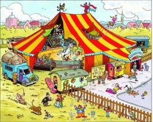 Einladung in den Zirkus