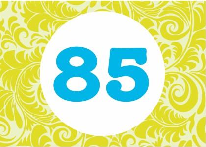 Einladung zum 85 geburtstag - Geschenke zum 85 geburtstag ...