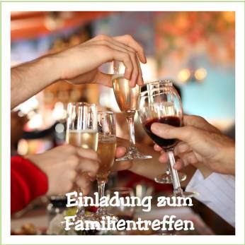 Wunderbar Familientreffen Programmvorlagen Bilder - Entry Level ...