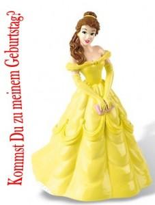 Einladung zum Prinzessinnengeburtstag
