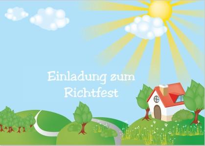 Gut gemocht Einladung zum Richtfest - Einladungen auf einladung.com QS62