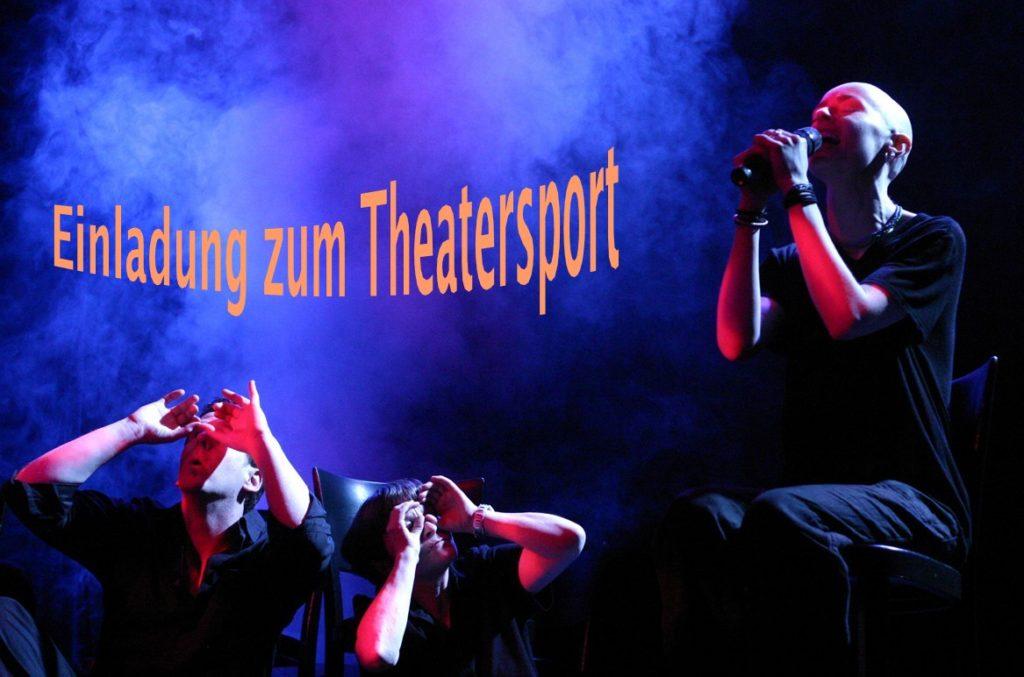 Selbstgemachte Einladung zum Theatersport