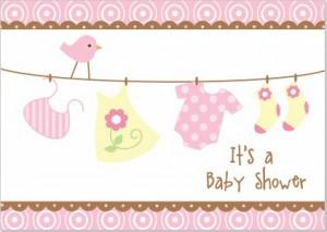 Einladung zur Babyshower