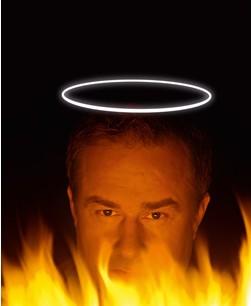 Einladung zur Mottoparty Himmel und Hölle