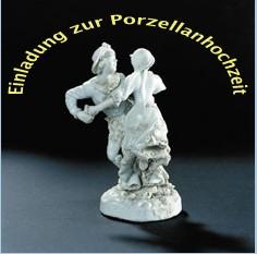 Einladung Porzellanhochzeit
