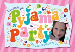 Einladung zur Pyjamaparty