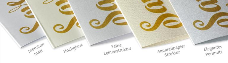 Papierformate und Papiersorten