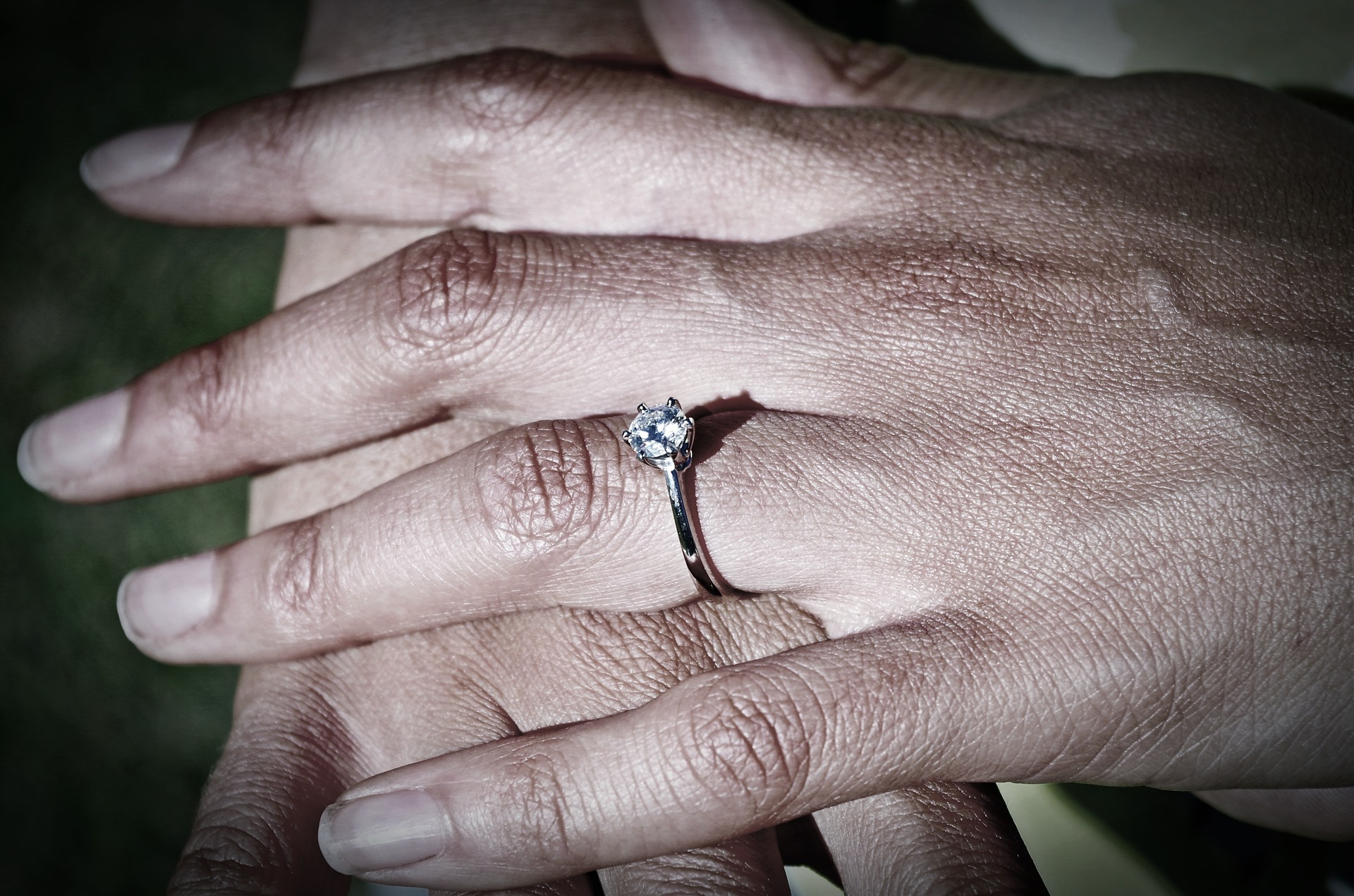 Feierliche Einladung Diamantene Hochzeit