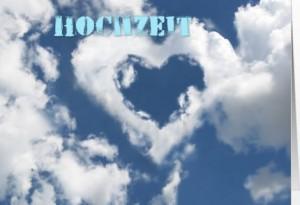 Herz in Wolken