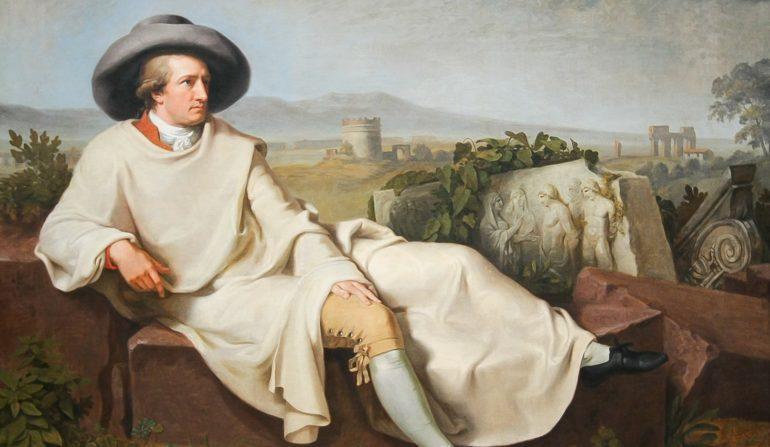 Einladungstext Goethe