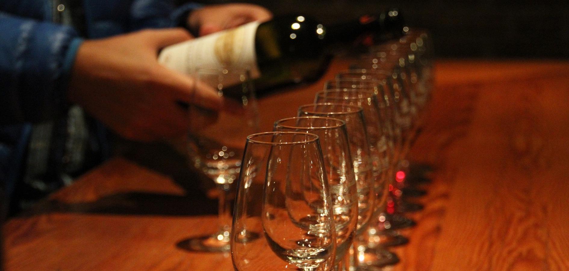 Einladung zur Weinprobe
