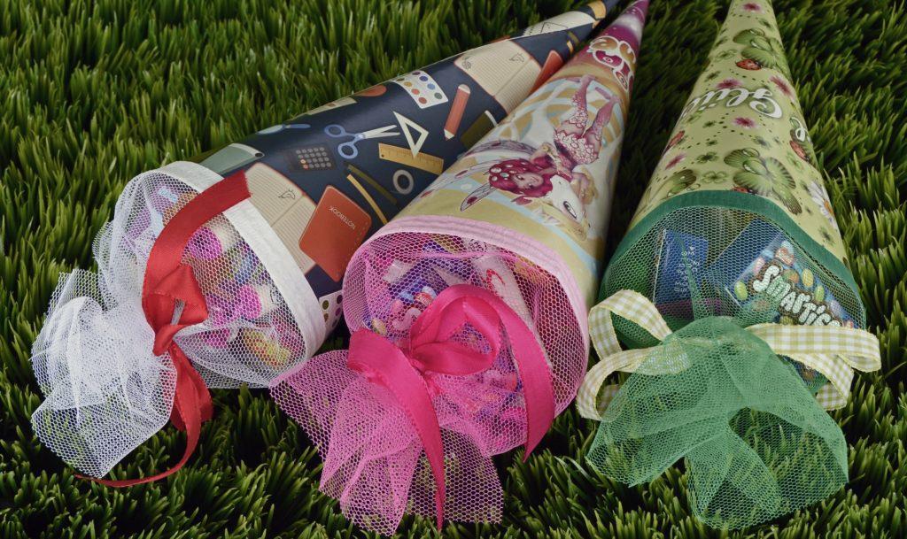 Einladung erster Schultag: Mit diesen Schultüten freut sich Ihr Kind