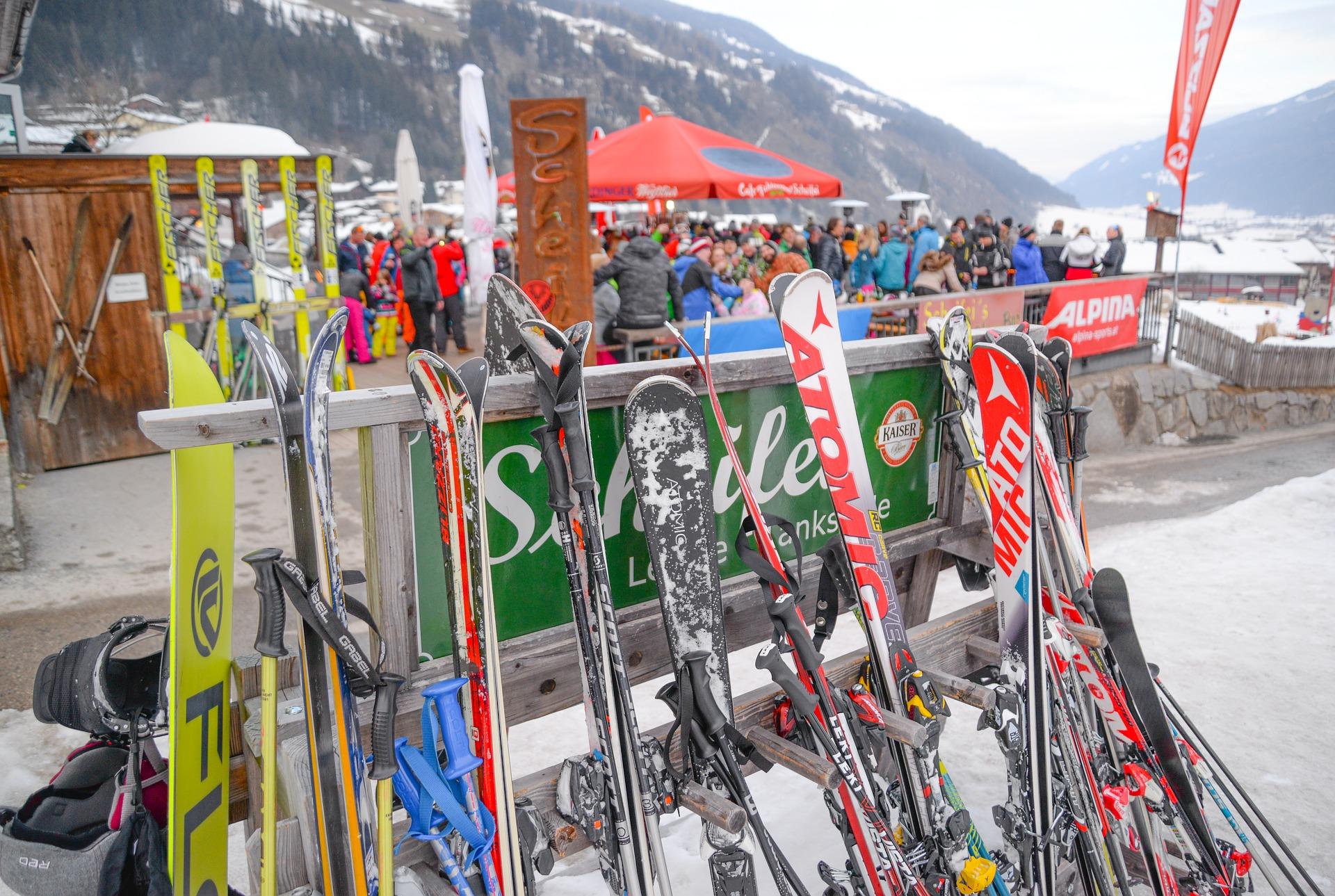 Einladung zur Après-Ski-Party
