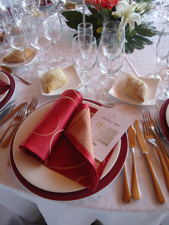 3 Tipps für Hochzeitsbankett